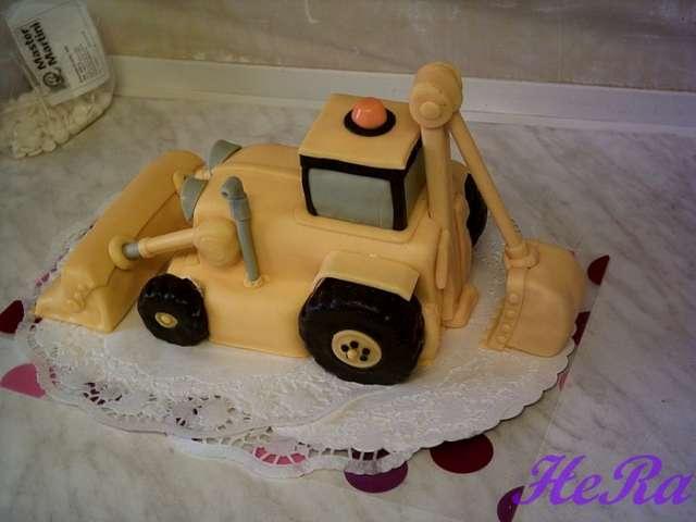 Как сделать торт в форме трактора из мастики | Блог.